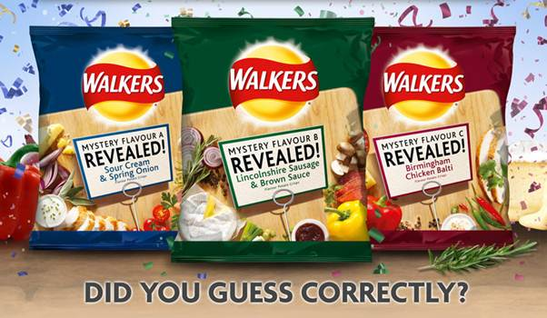 Walkers do us a flavour winner